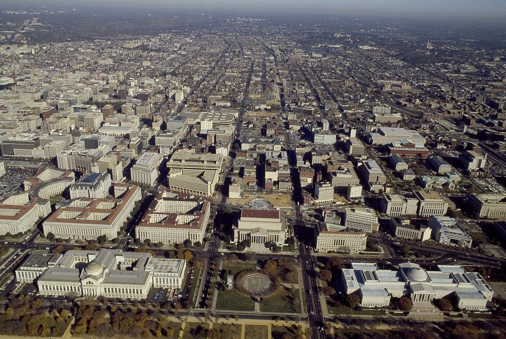 File Aerial View Of Washington D C 14562v Jpg Wikimedia Commons