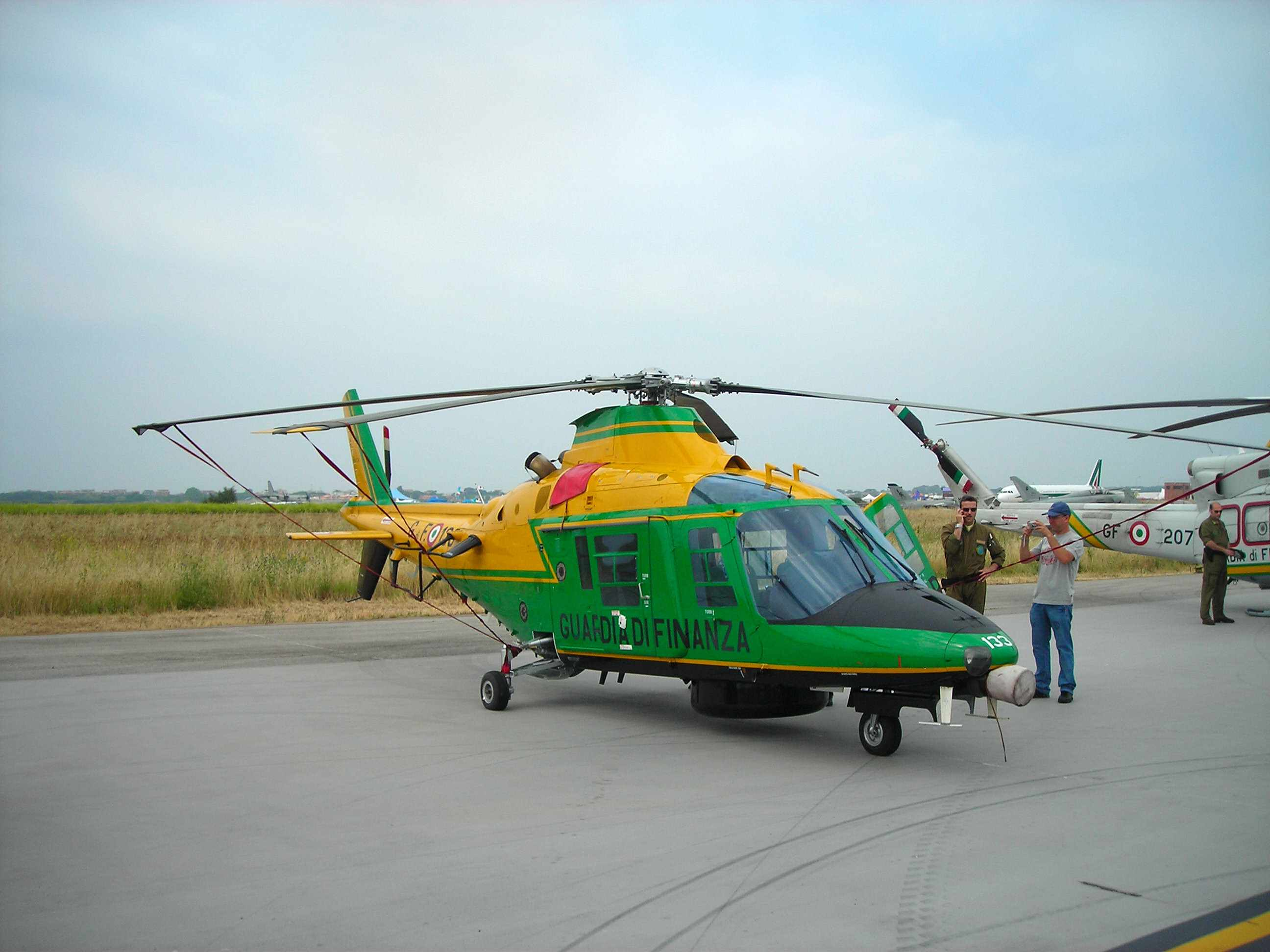 Description agusta a109 guardia di finanza