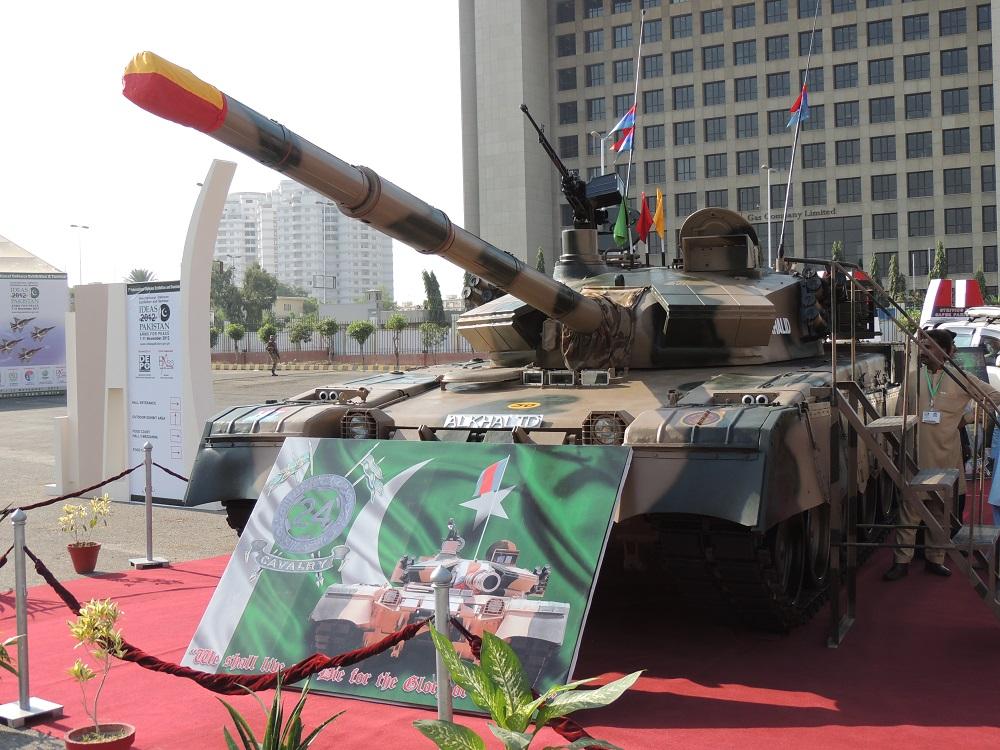 Al-Khalid tank - Wikipedia