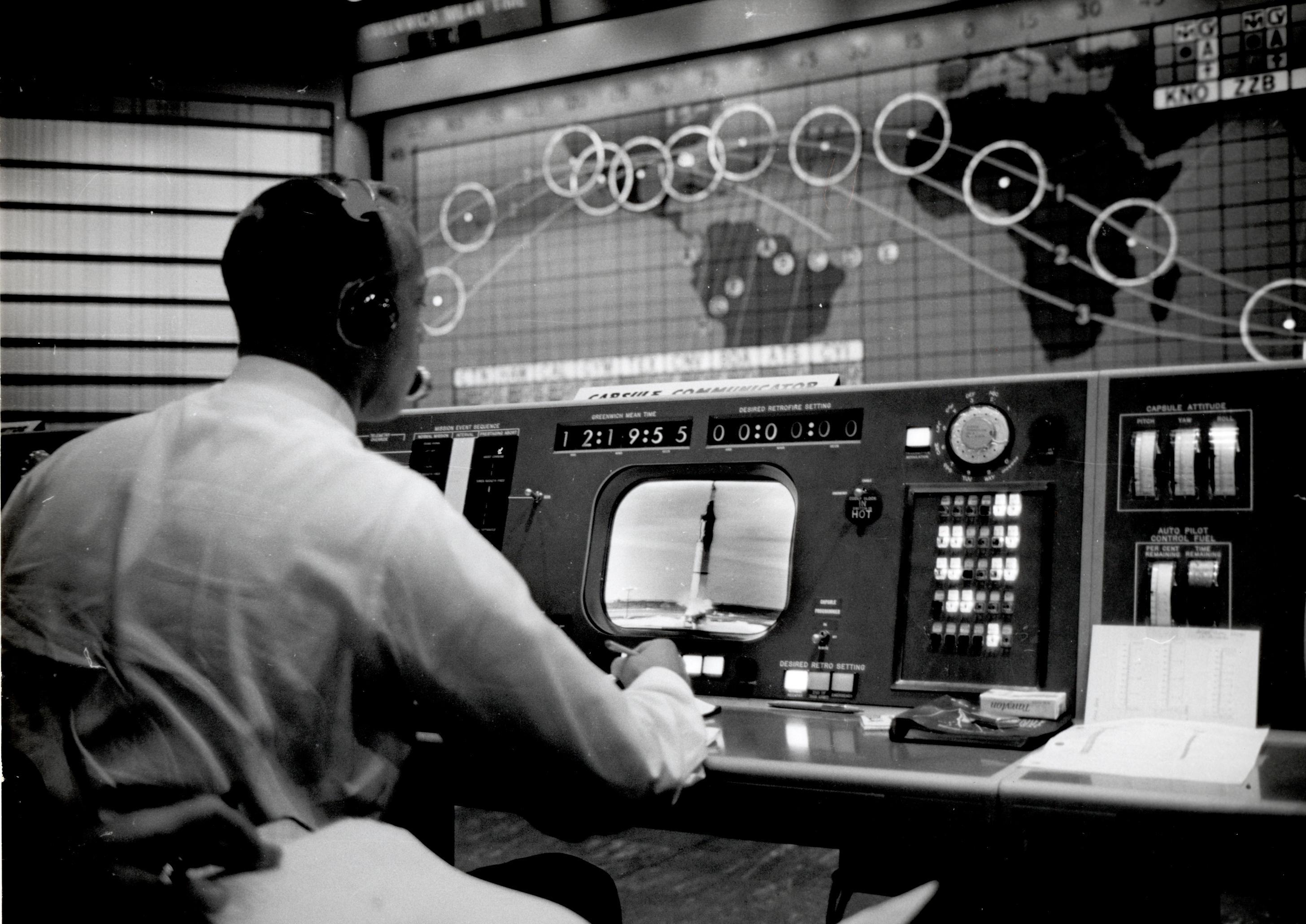 Mercury Control Center | National Aeronautics and Space
