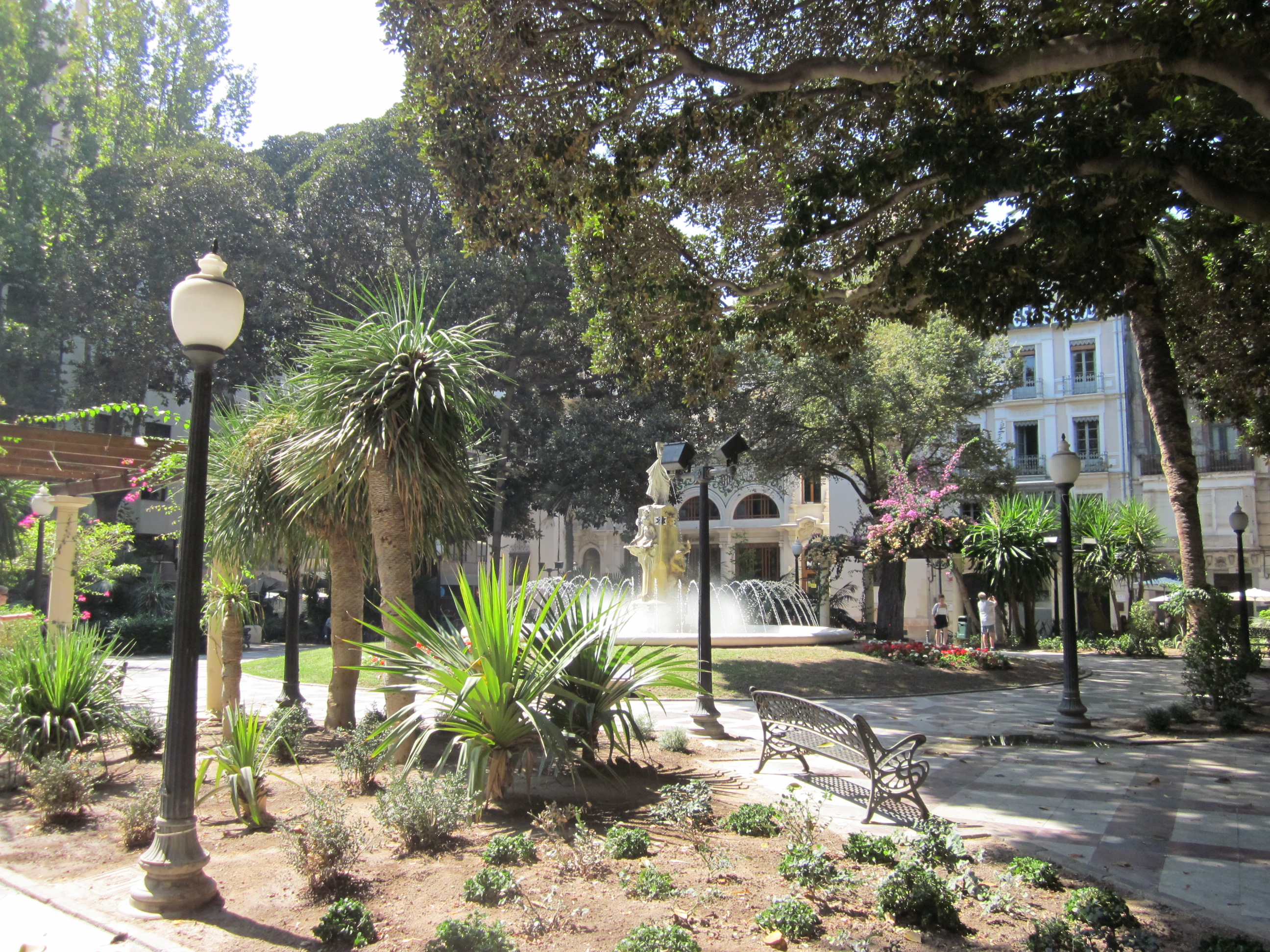 Green and Spacious Parks Of Alicante
