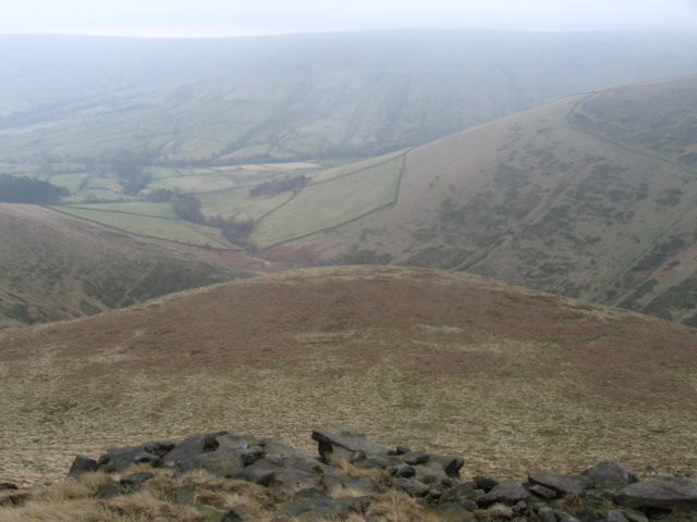 Along Crowden Brook from near Grindslow Knoll - geograph.org.uk - 1185048