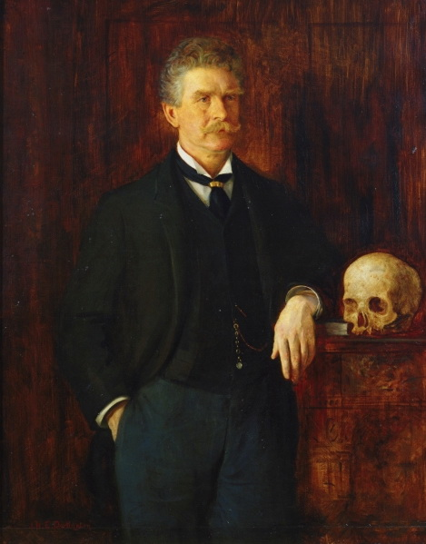 Depiction of Ambrose Bierce