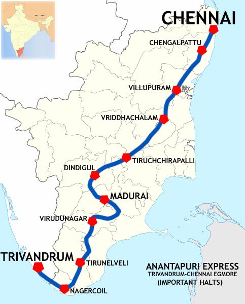 Chennai Local Train Map Pdf