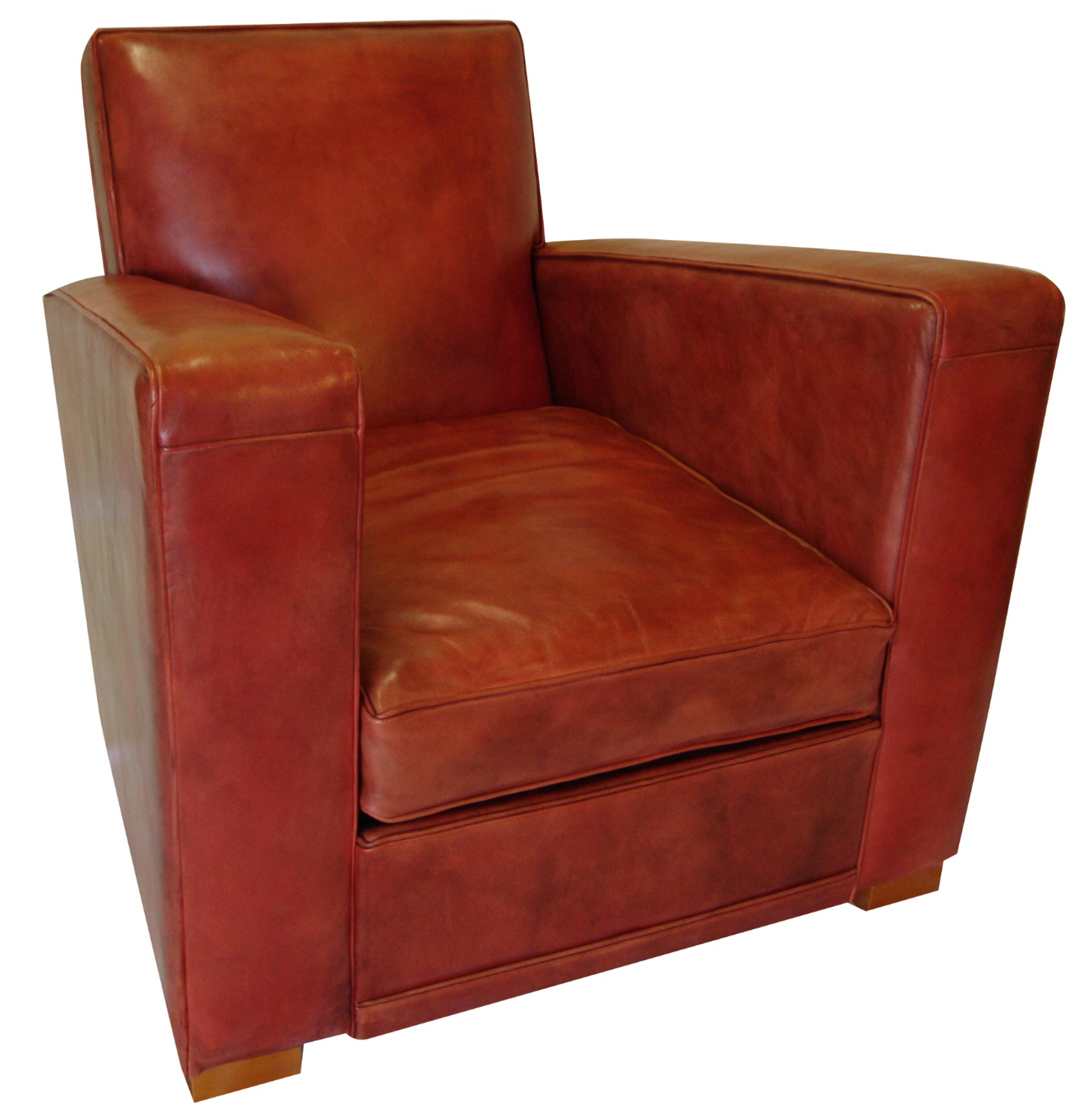 File Art deco club chair