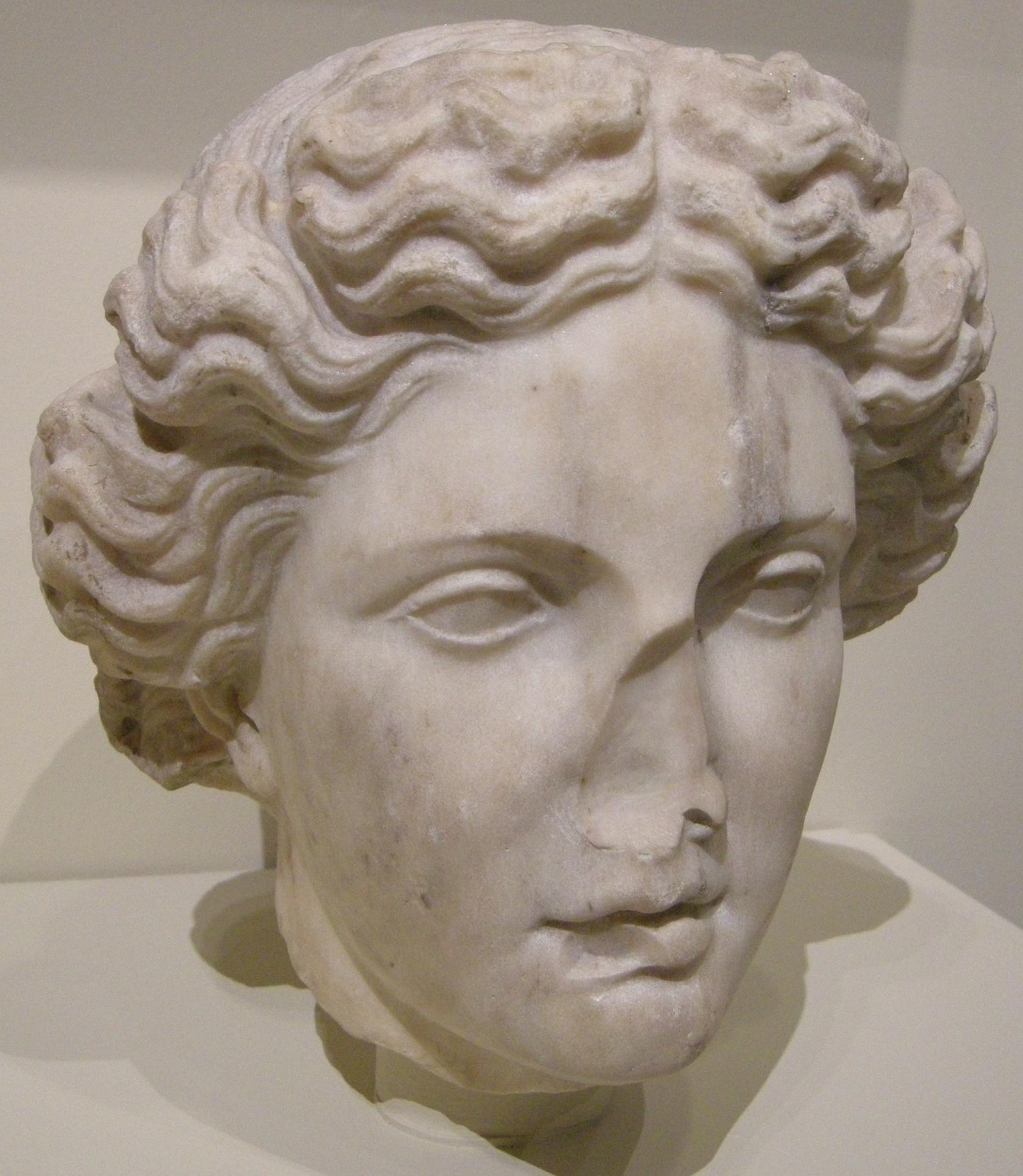file arte romana testa di apollo i ii secolo da un originale greco delll 39 inizio del iv secolo. Black Bedroom Furniture Sets. Home Design Ideas
