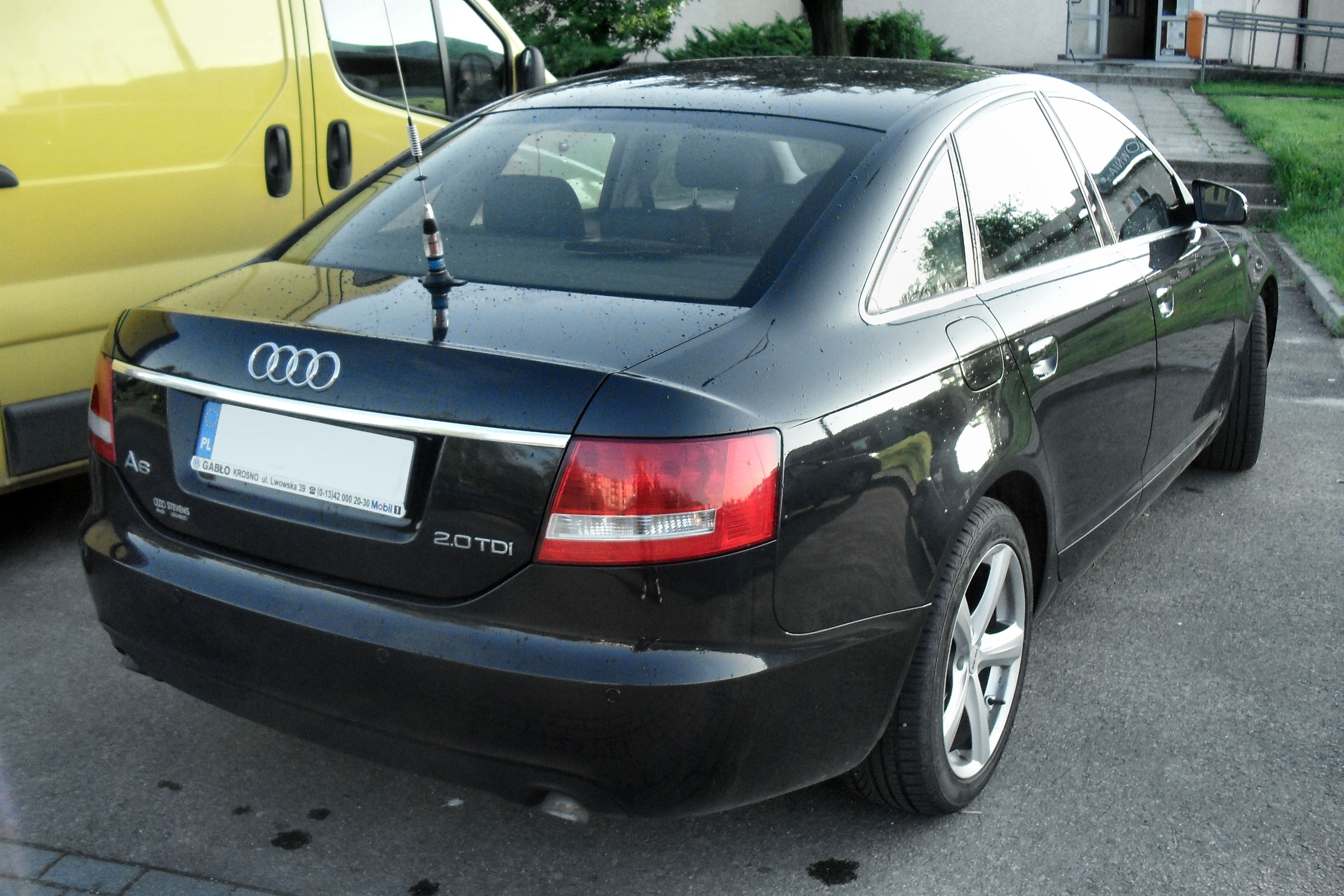 File Audi A6 C6 Jaslo Jpg Wikimedia Commons