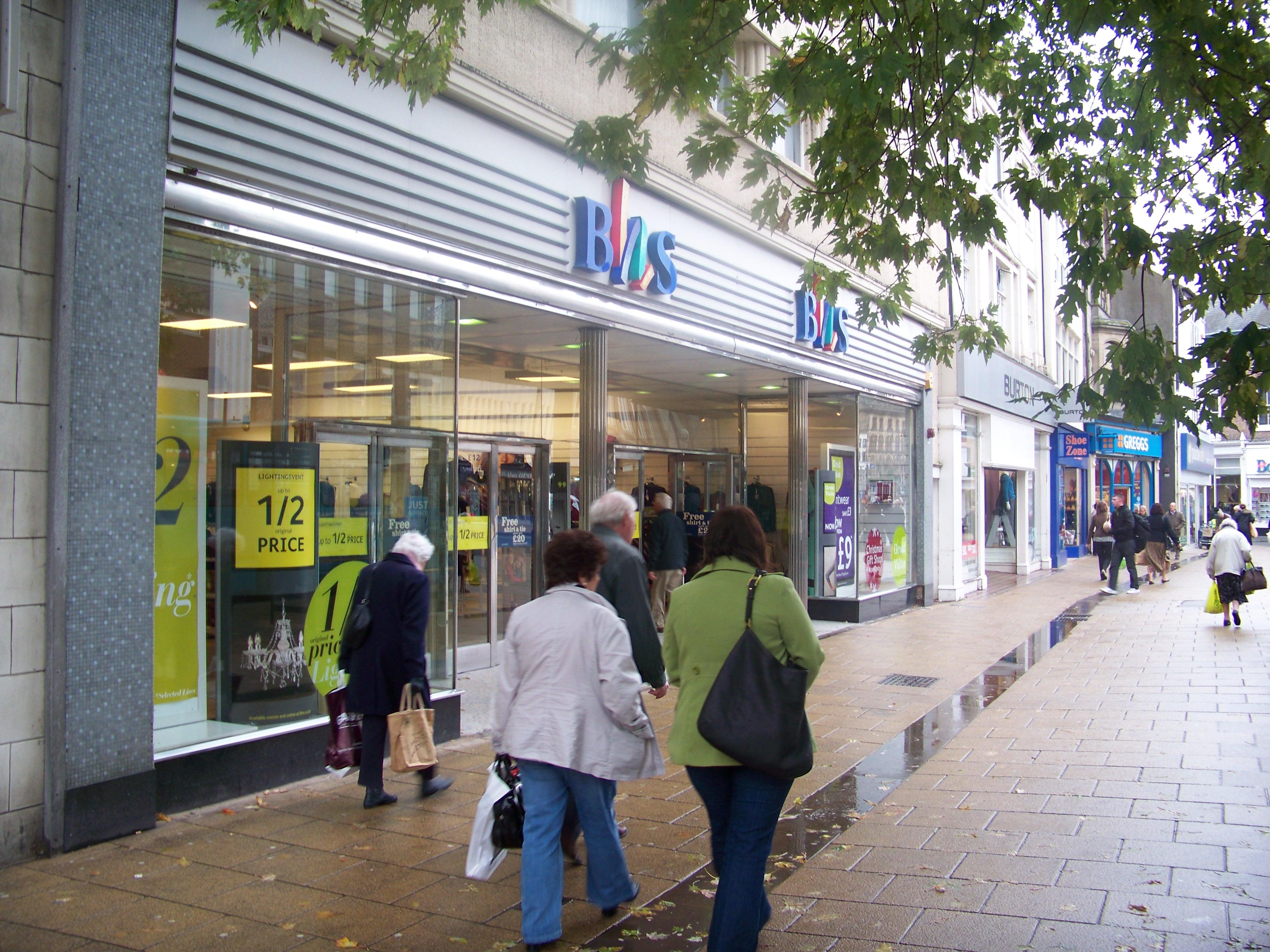 Fashions Shops In Bridgend