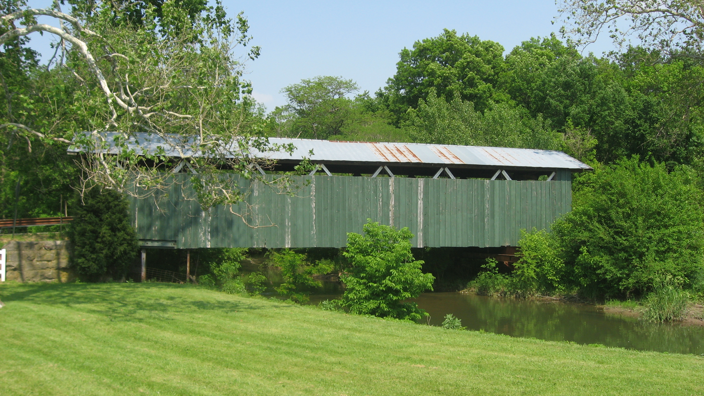 ballard road covered bridge - wikipedia
