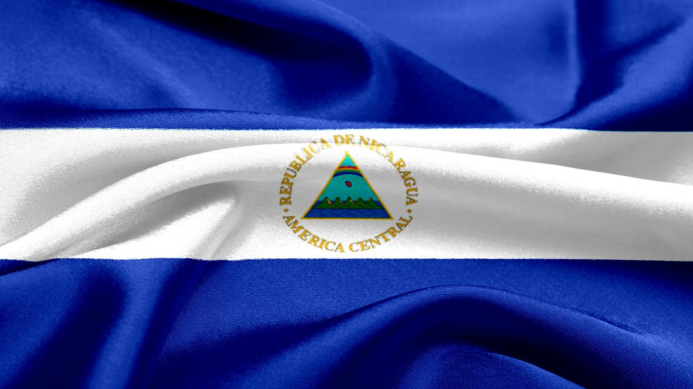 Resultado de imagen para nicaragua bandera