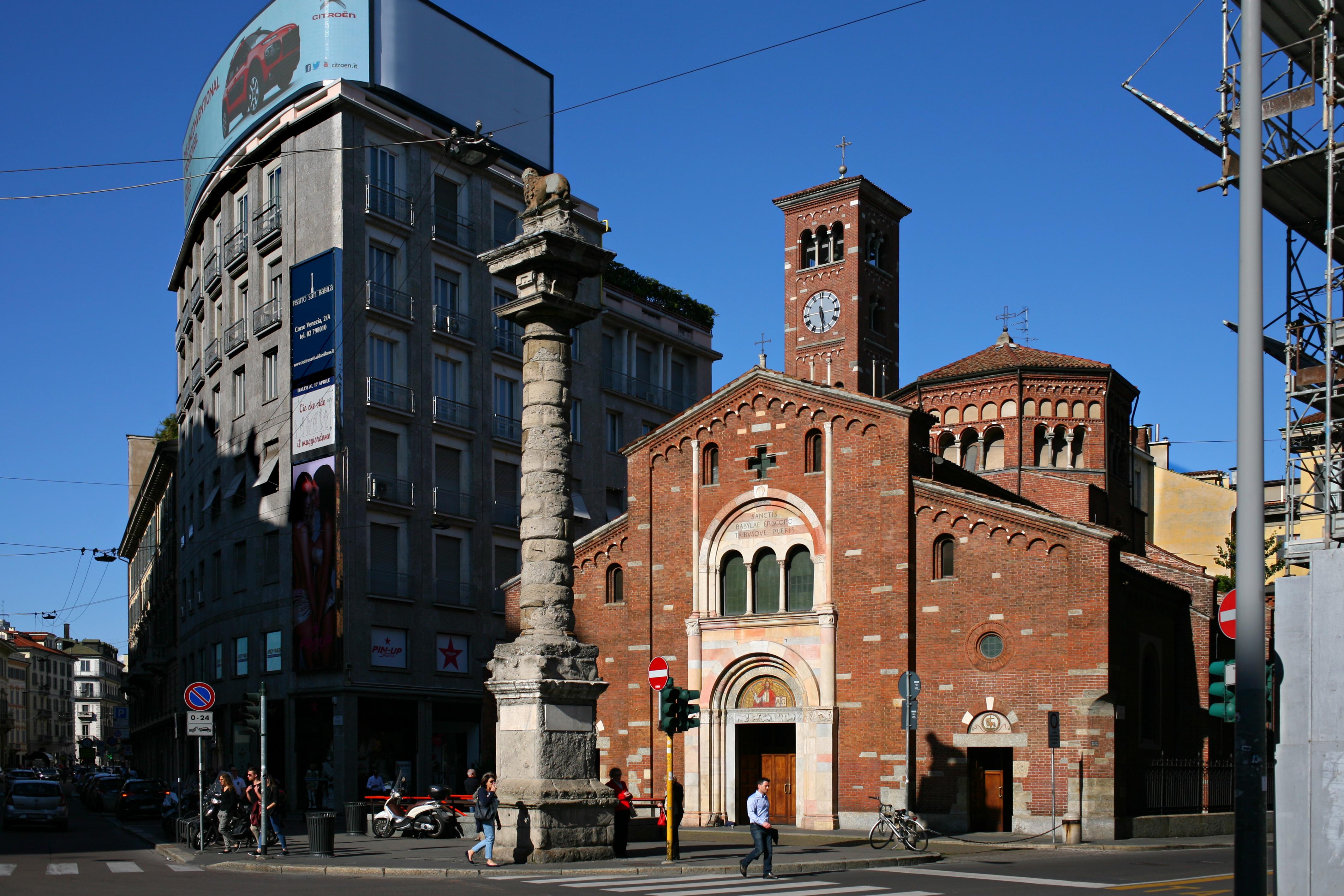 File basilica di san babila milano nel wikipedia for Milano 2016