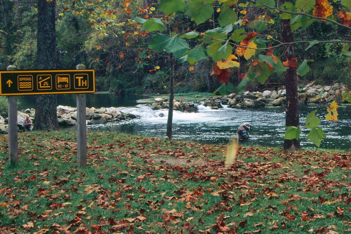 Bennett spring state park wikipedia for Bennett springs trout fishing