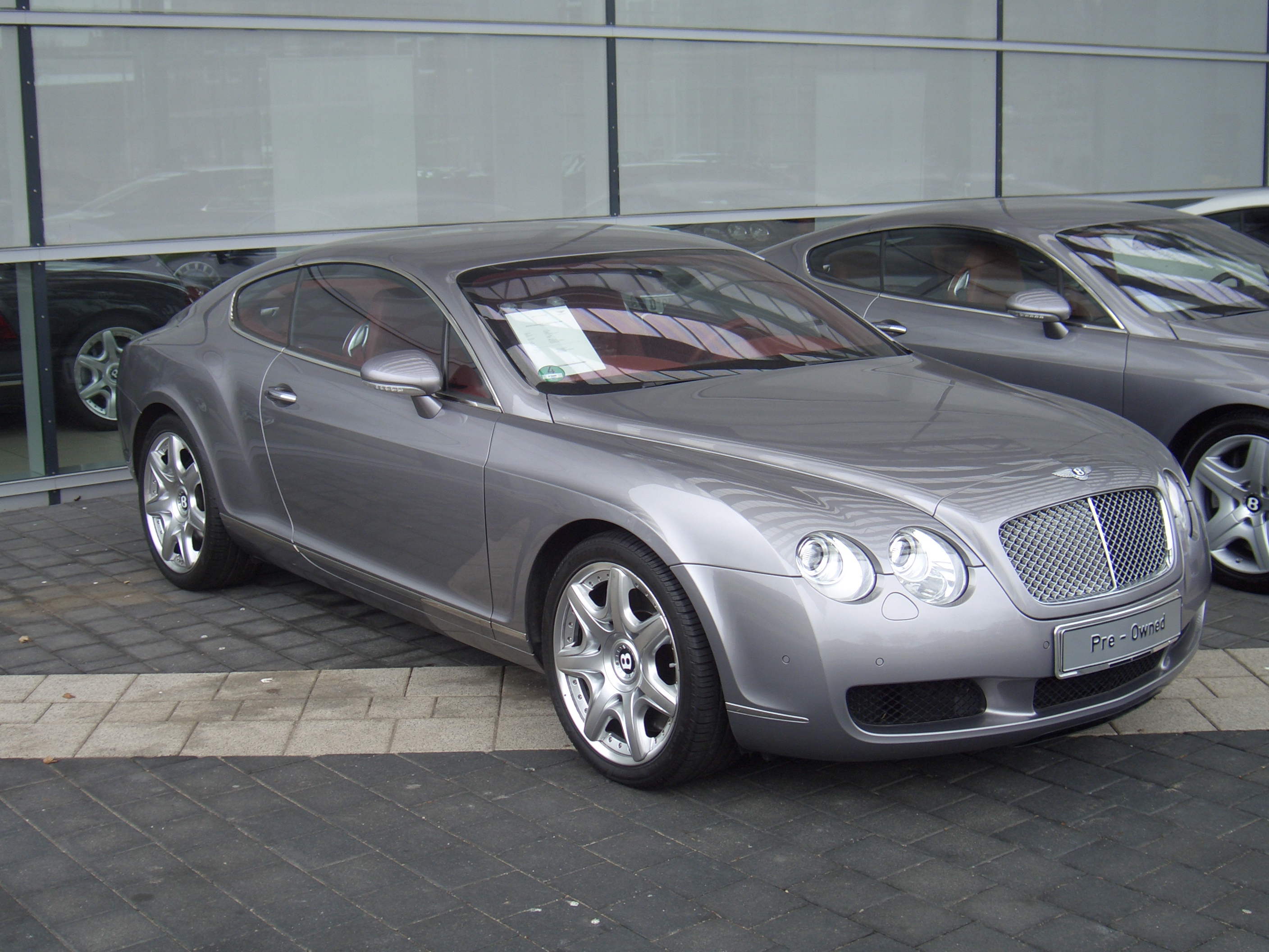 File Bentley Continental Gt Mulliner 000 Since 2003 2006