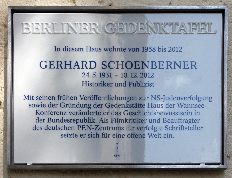 Gerhard Schoenberner Wikipedia