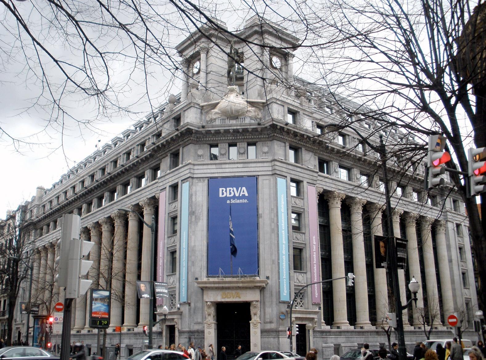 Banco bilbao vizcaya argentaria wikipedia for Sucursales banco santander en roma italia