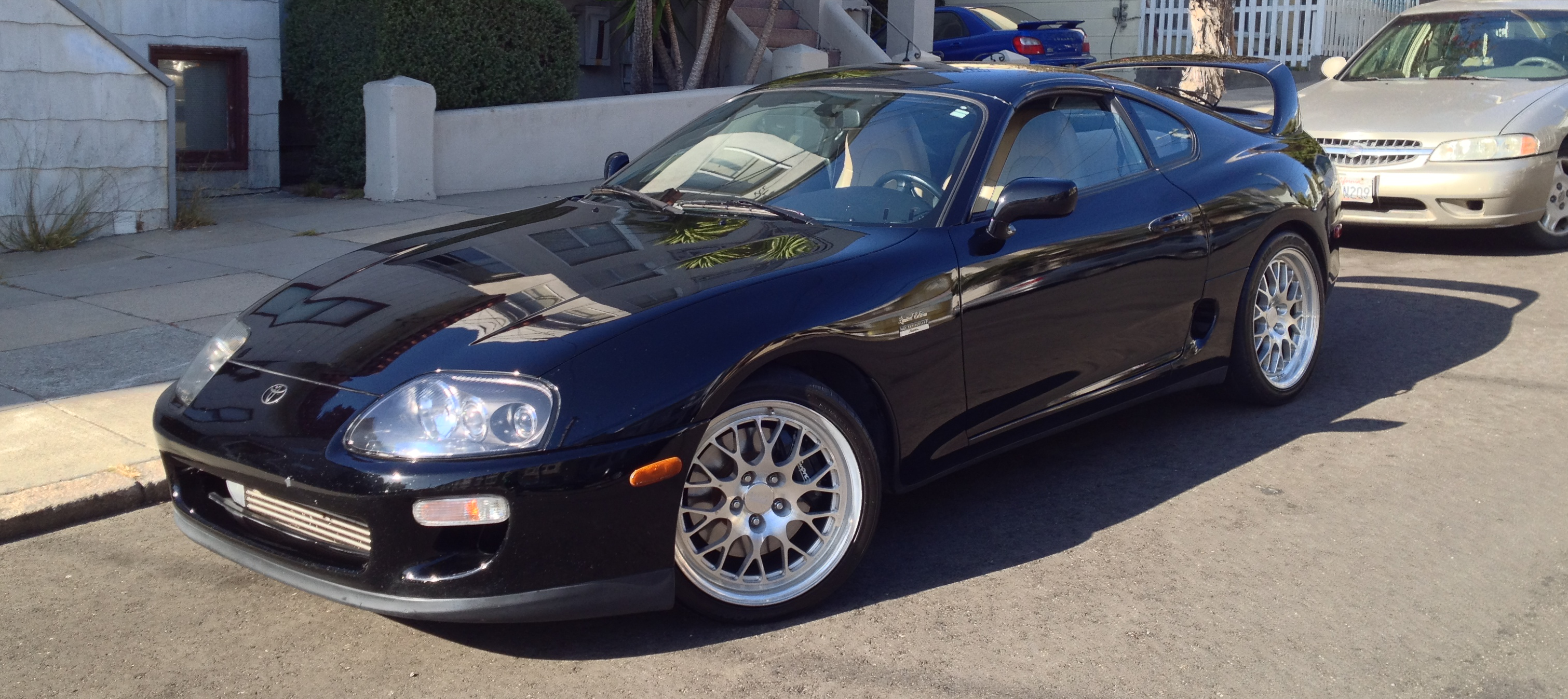 File Black 1997 Toyota Supra Limited Edition 6 Speed