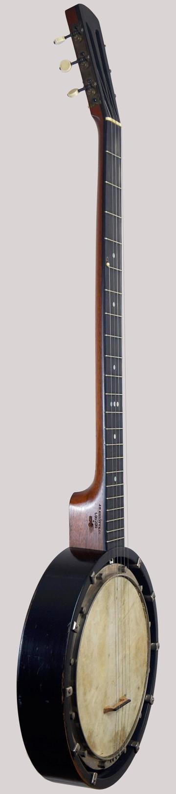 1920s London made 5 string zither banjo at Ukelele Corner