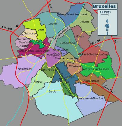 Plan Centre Ville Lille