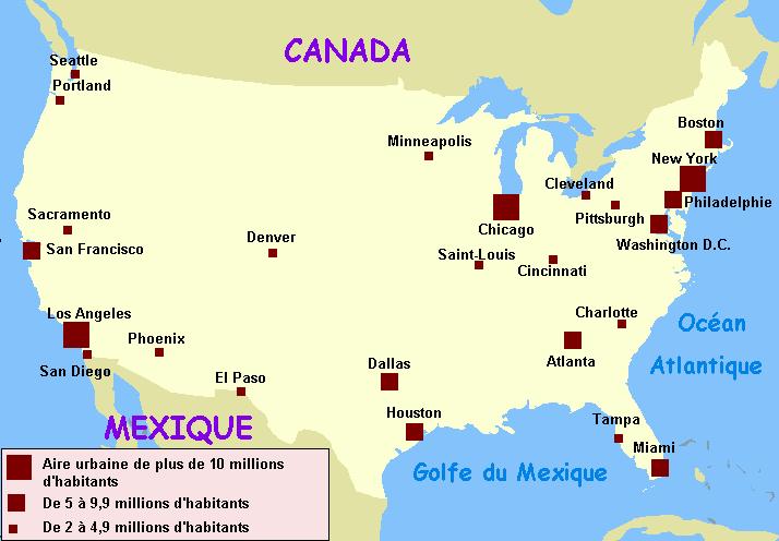 villes-americaines-sur-carte
