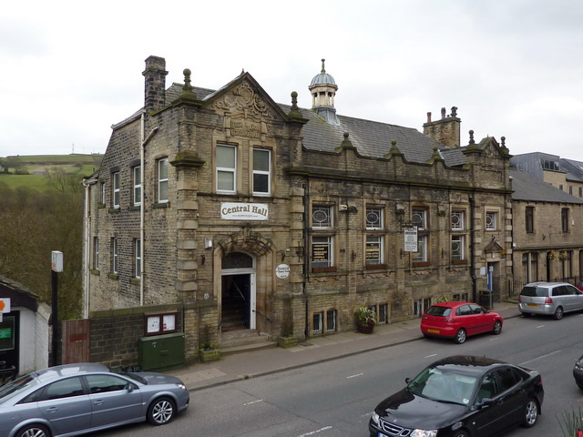 Central Hall, Oldham Road, Ripponden - geograph.org.uk - 1805229