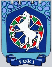 Official seal of Shaki