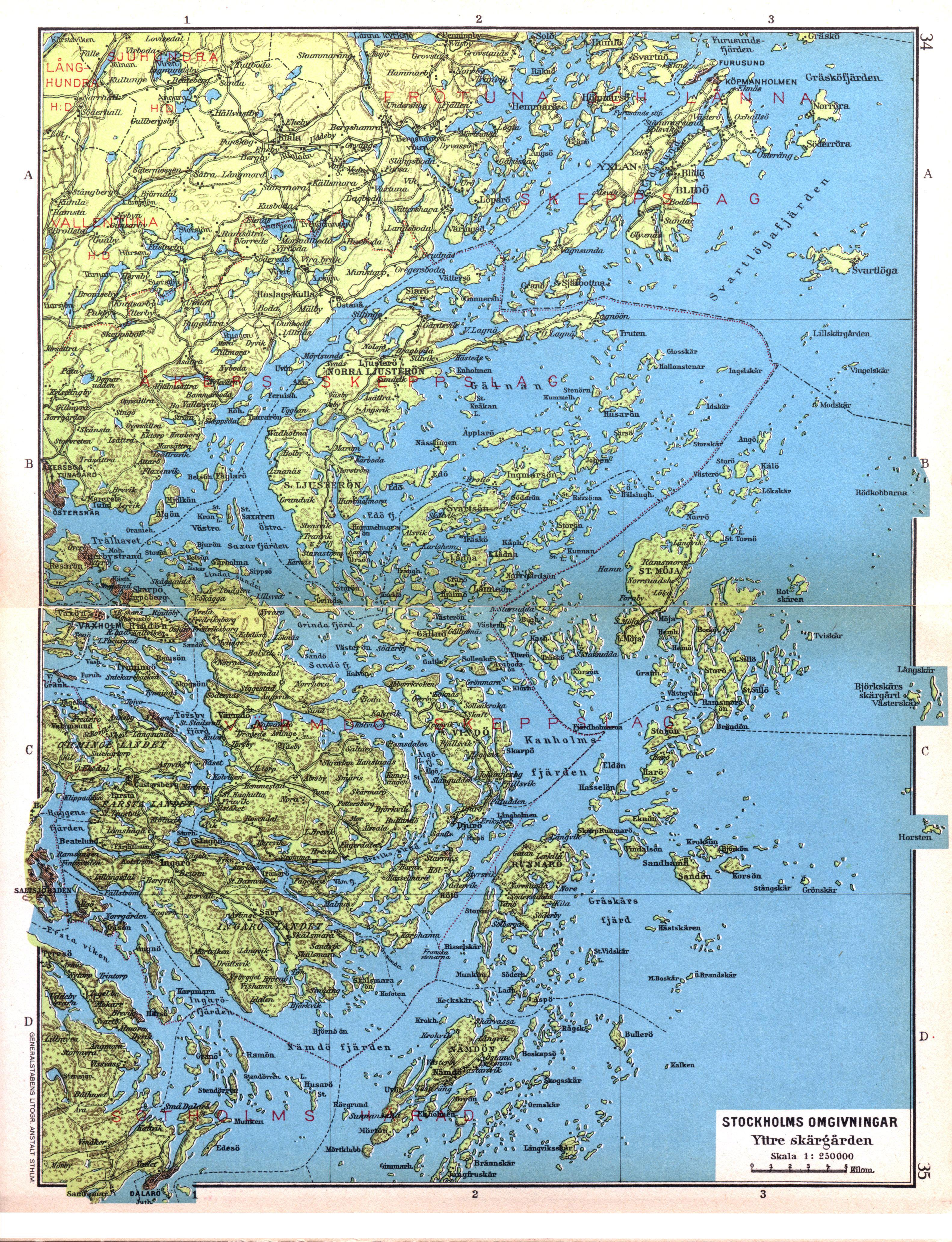File Cohrs Atlas Over Sverige 0018 Stockholm Archipelago Jpg