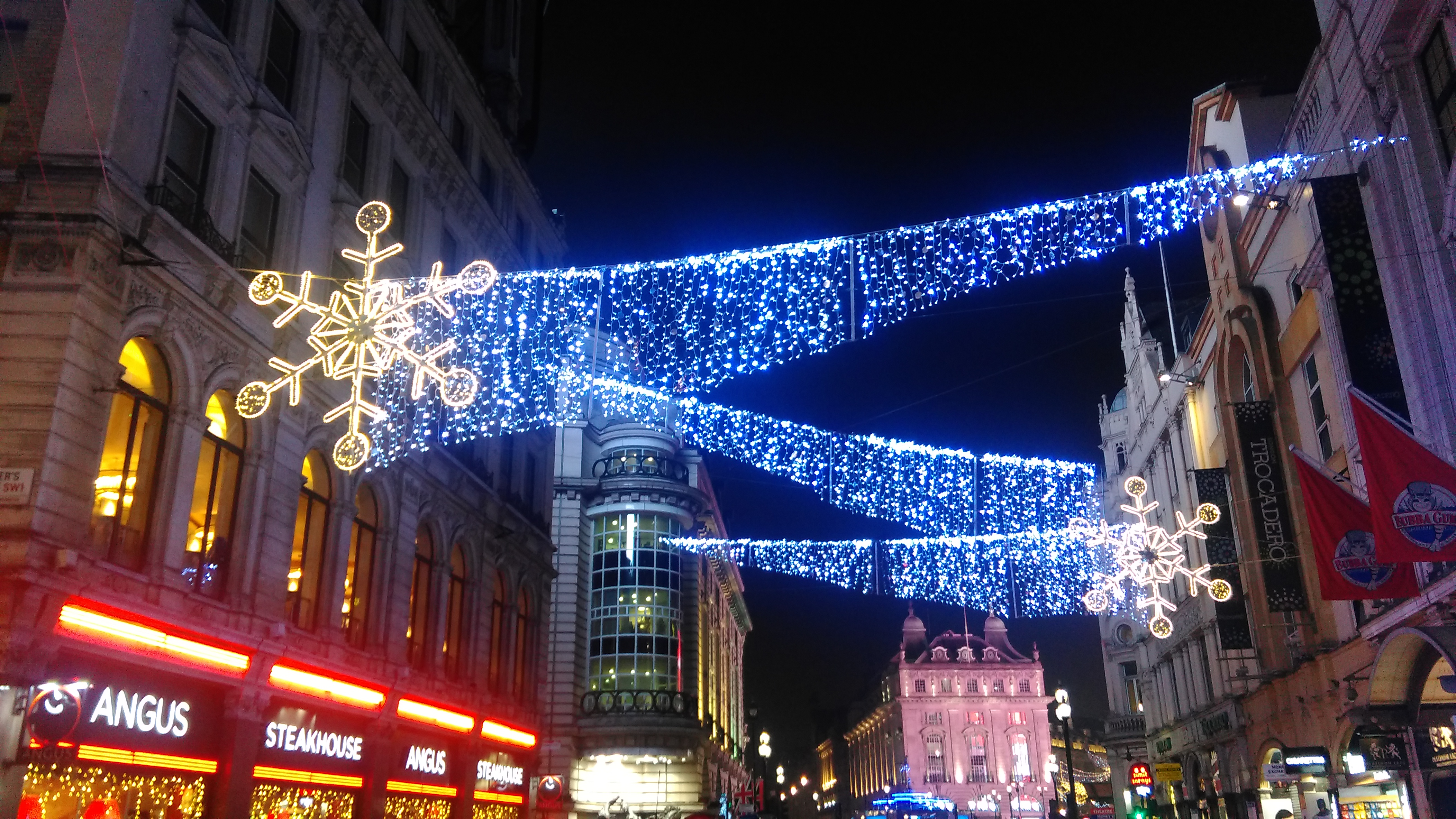 United Kingdom Christmas.File Coventry Street Christmas 2016 Decorations London