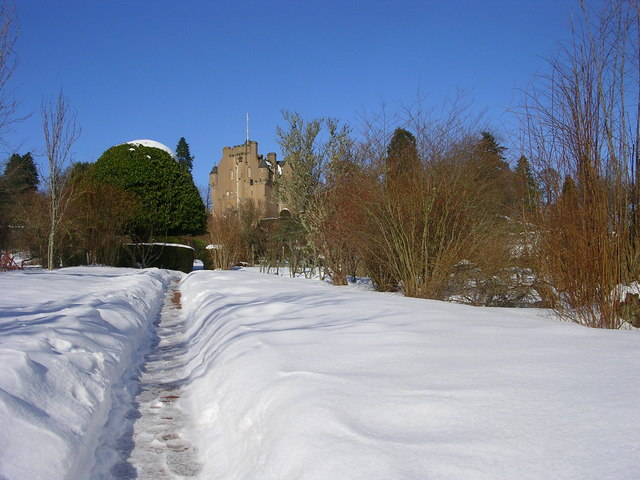border castle wallpaper.  Stock photography - winter border; Free photo calendar (canada only)