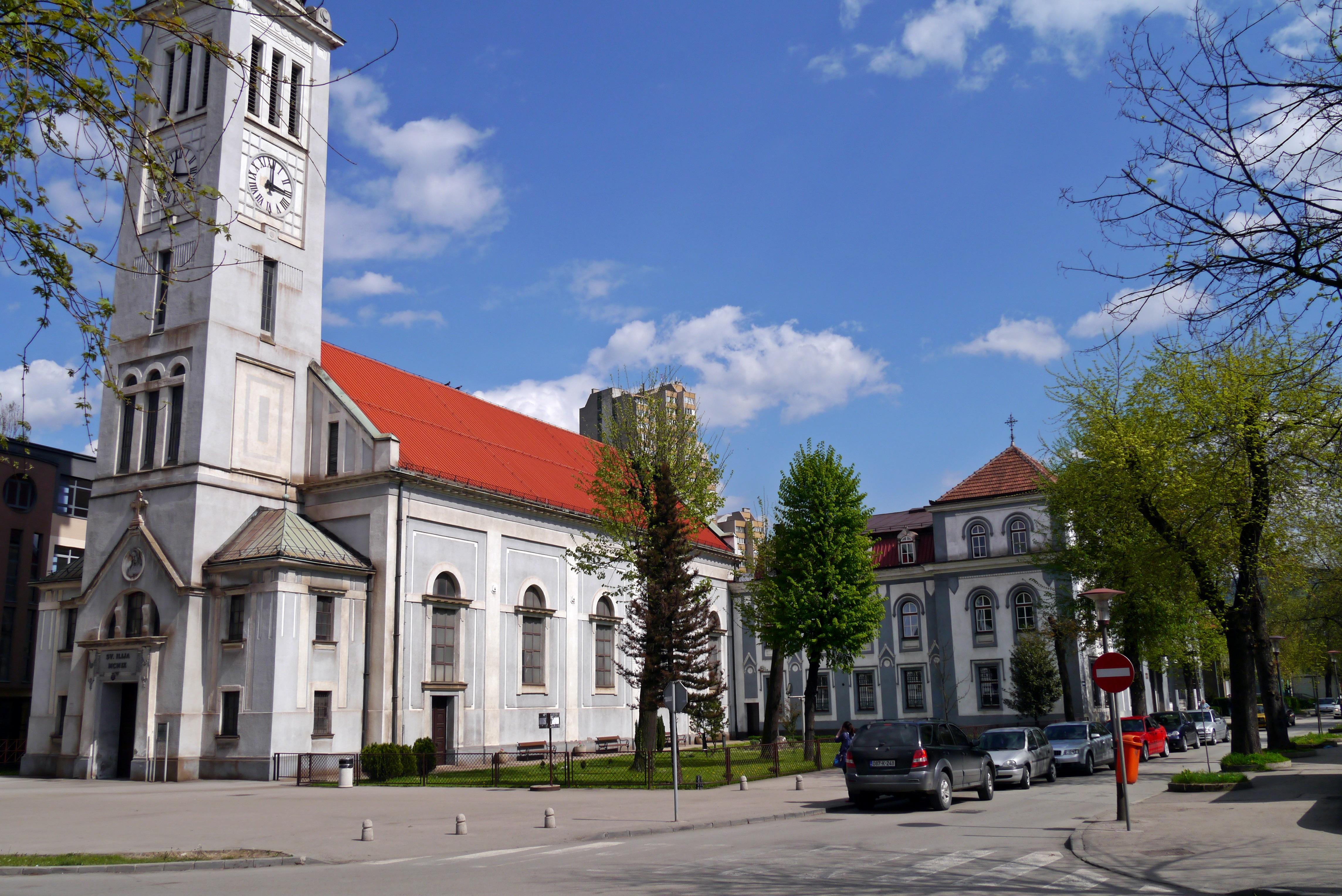 Crkva Svetog Ilije u Zenici — Vikipedija, slobodna enciklopedija