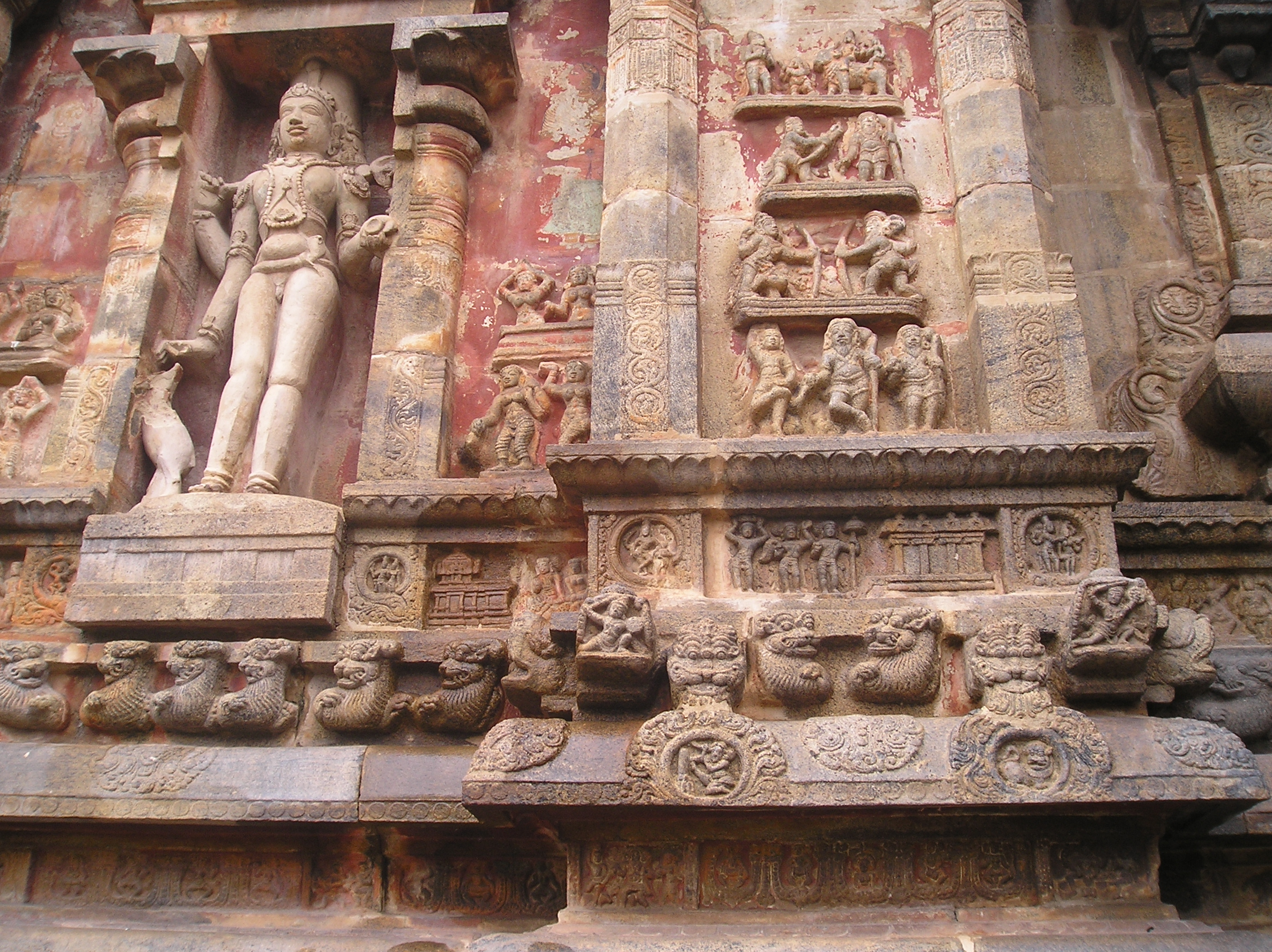 Sculpture at Airavateshwarar temple, Darasuram