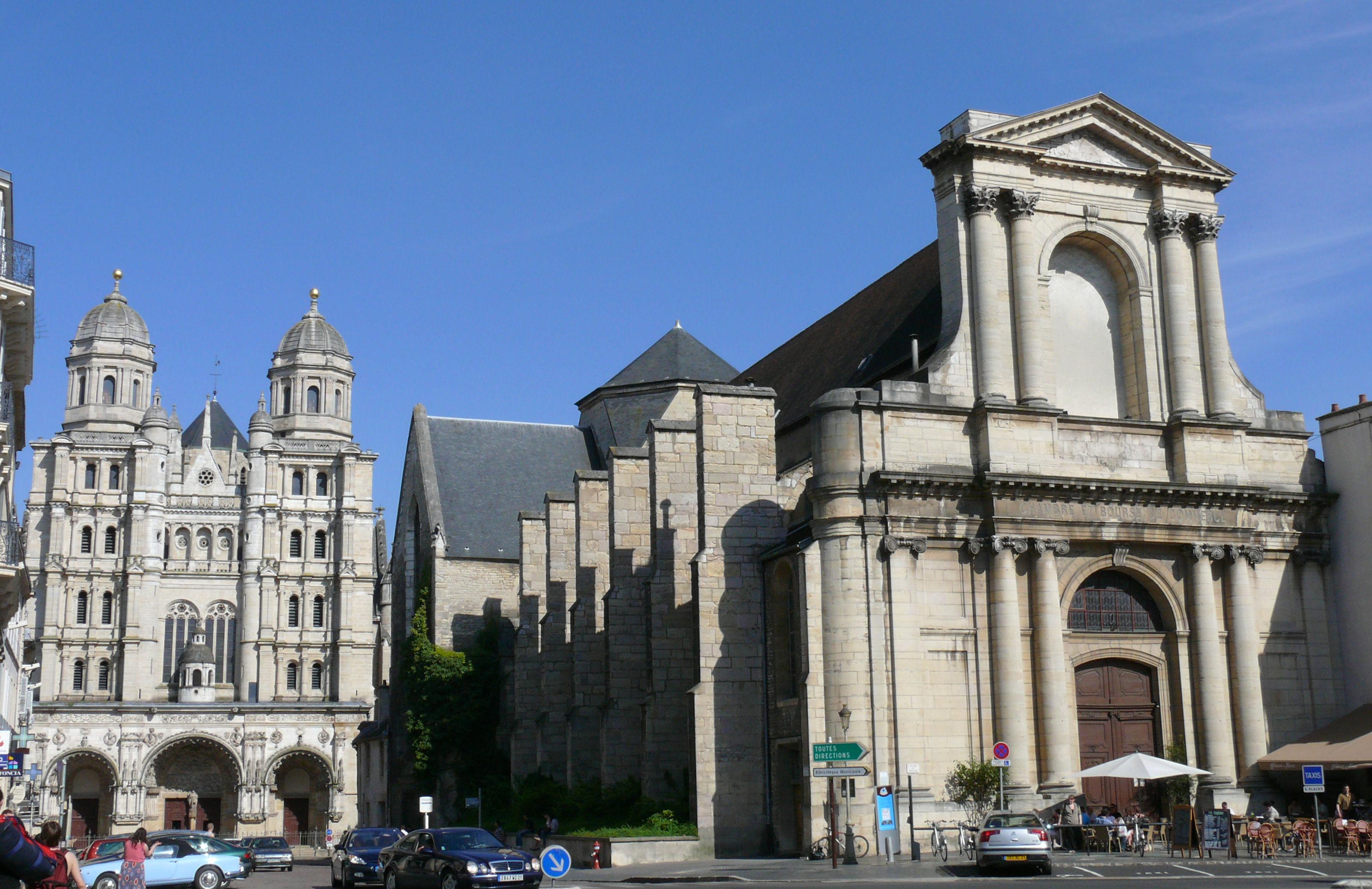 File Dijon Ancienne Glise Saint Etienne Et Glise Saint