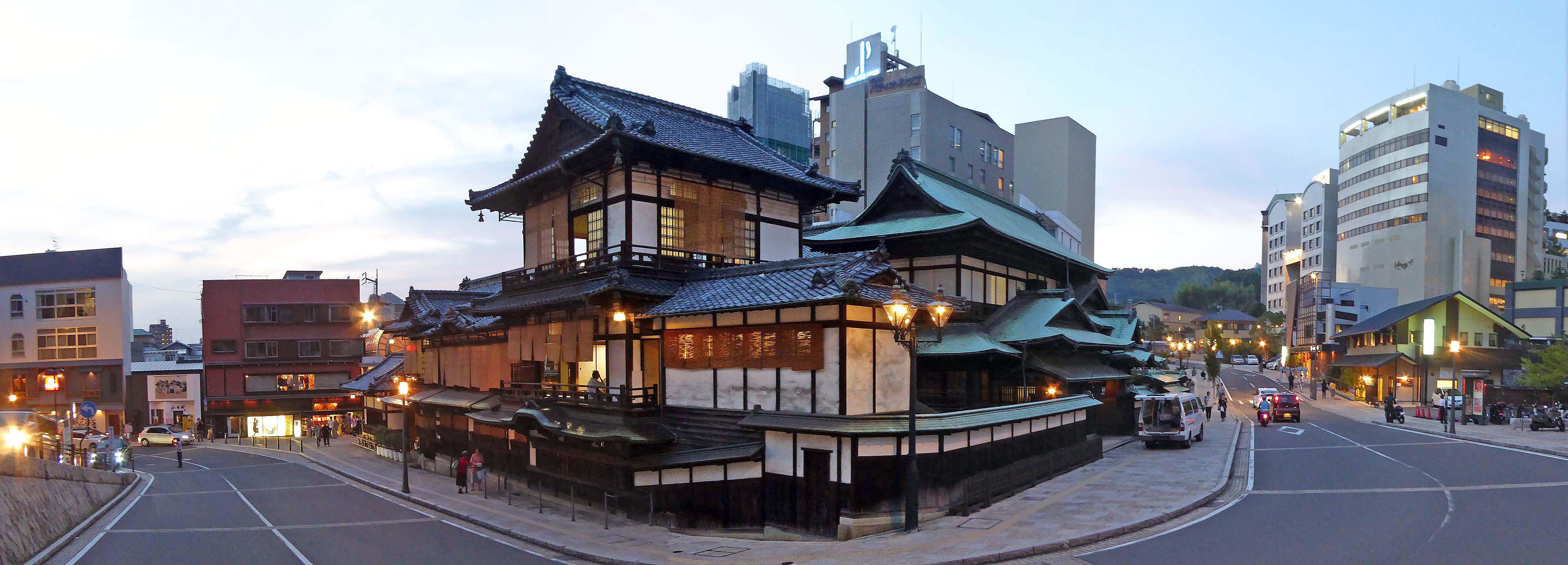 Dogo Onsen Honkan (Main bulding) , 道後温泉 本館 - panoramio (8).jpg