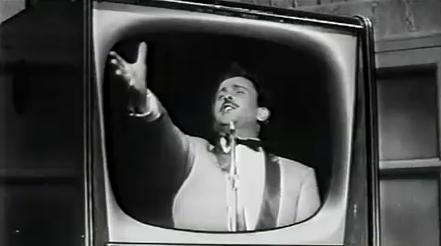 Doménico Modugno en el festival de San Remo de 1959.