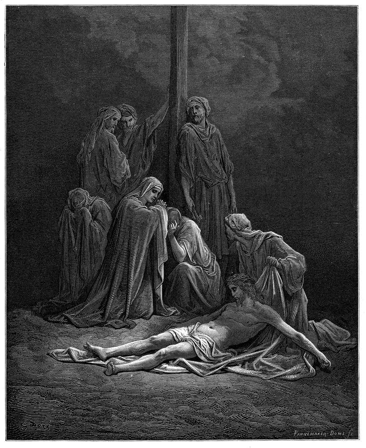 예수님의 거룩한 시체 (귀스타브 도레, Gustave Dore, 1866년)