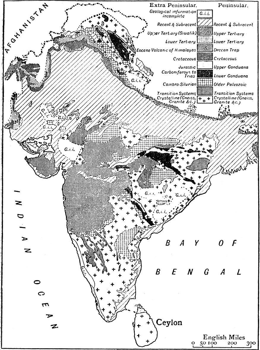 Geological Map Of India.File Eb1911 India Geological Map Jpg Wikimedia Commons