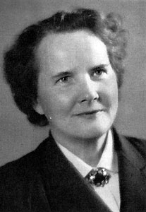 Edith Unnerstad omkring 1960