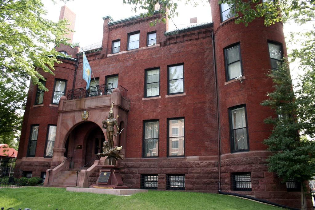 Embassy Of Kazakhstan In Washington D C Wikipedia