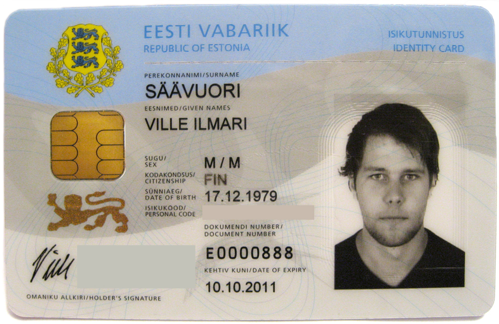 Estonian identity card, 2007.jpg
