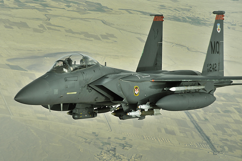 Resultado de la imagen para F-15E Strike Eagles