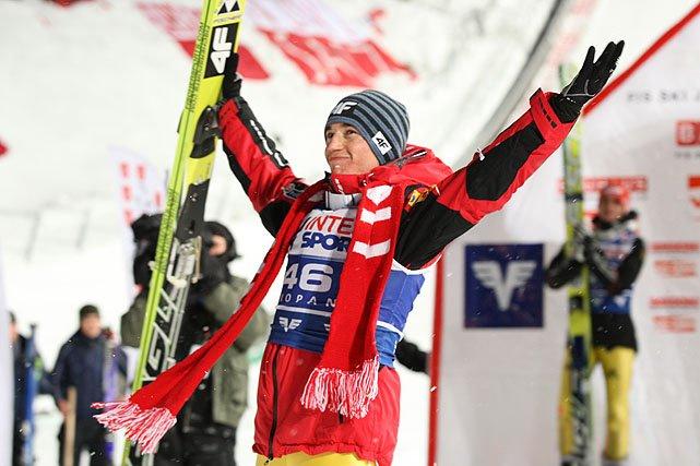 Skoki narciarskie: Kamil Stoch zdeklasował sezon. Nieźle też zarobił