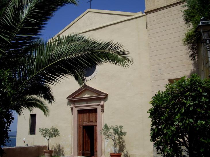 Facciata Chiesa di Sant'Erasmo, Porto Ercole