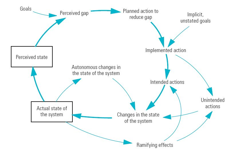 Feedback Loops in a Systems Dynamics Model