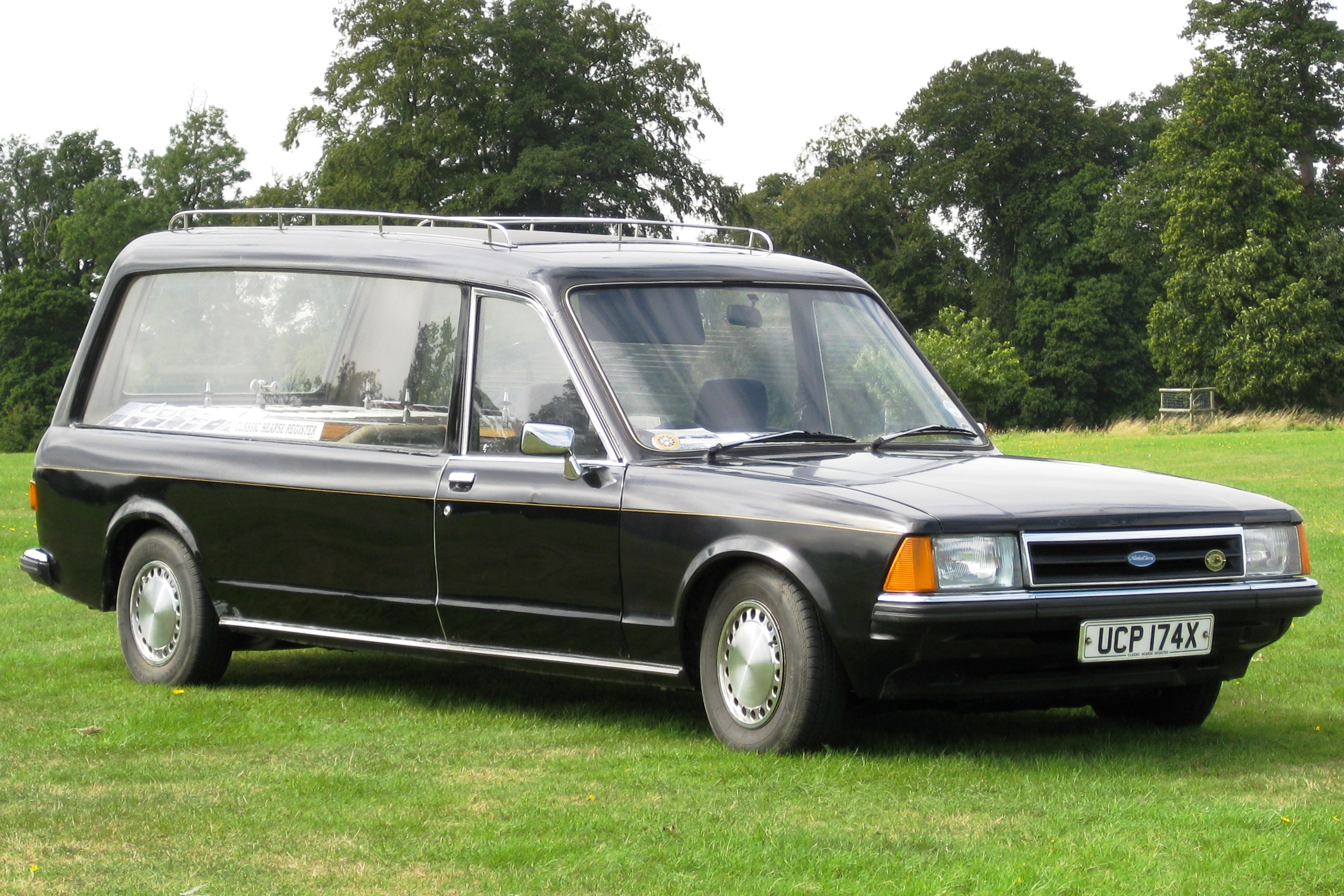 Image result for hearse ford