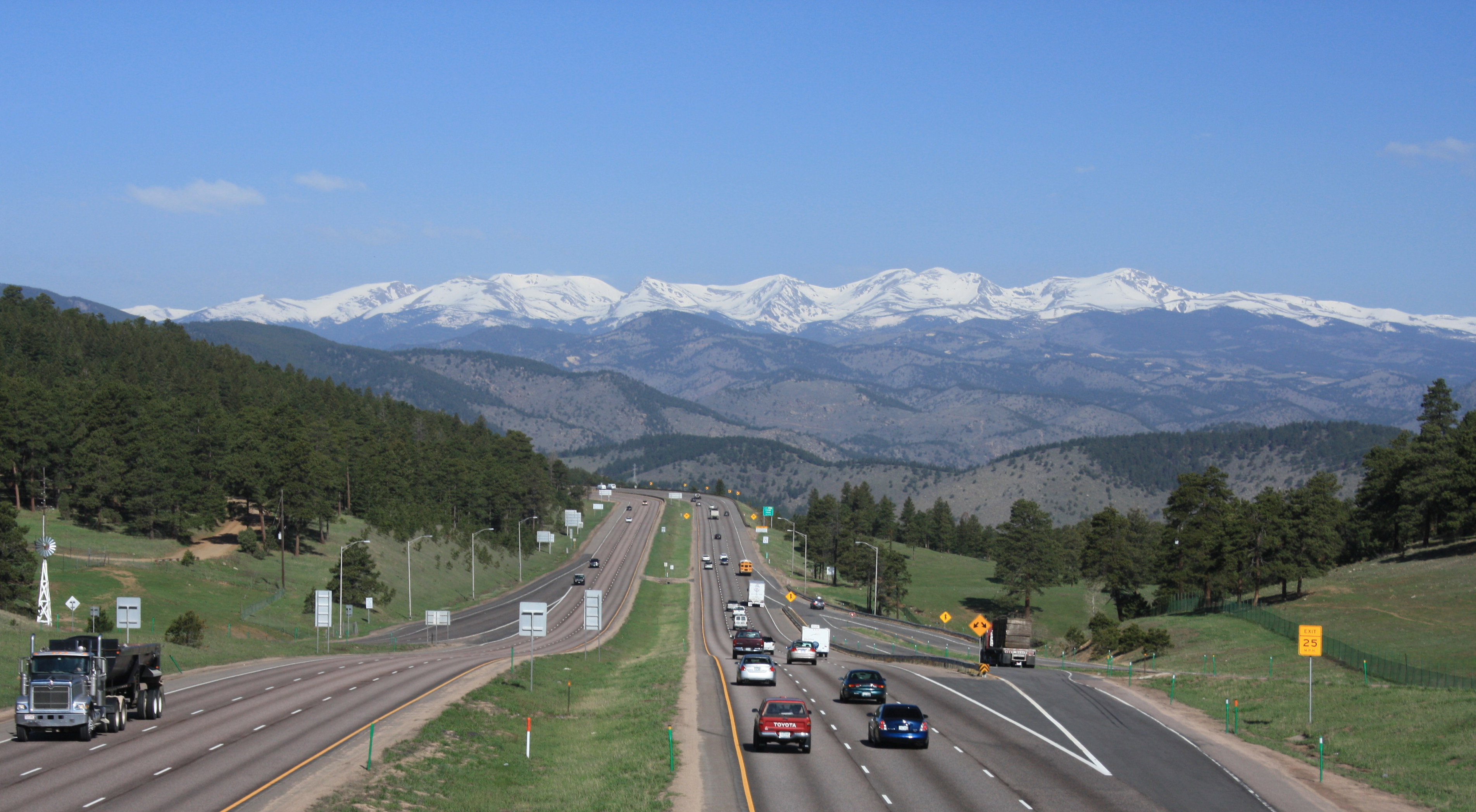 File:Front Range and I-70 from Genesee Park.jpg