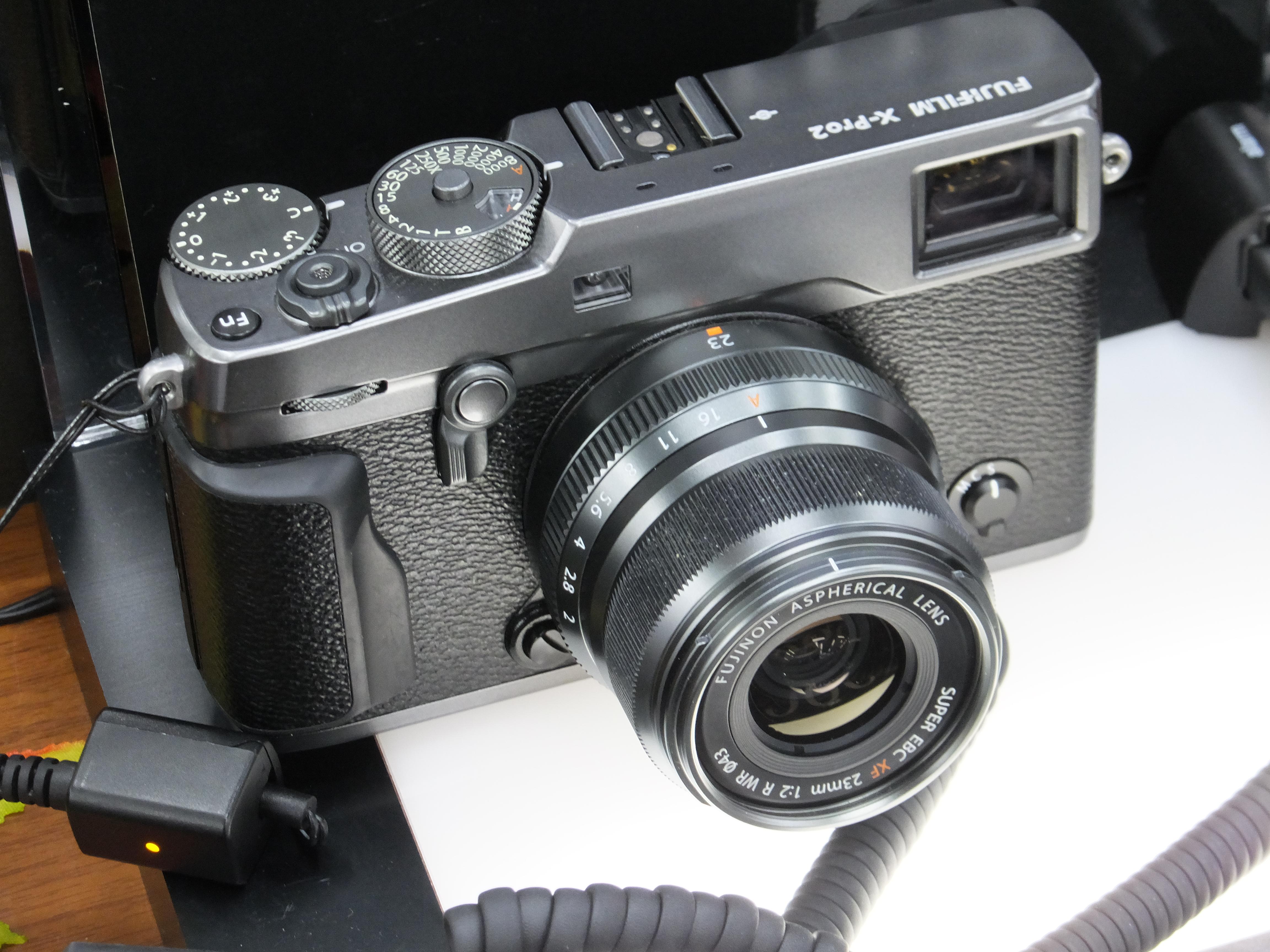 Fujifilm X Pro2 Wikipedia E3 Kit Xf 23mm F2 Black 35mm Graphite Edition Set With Body Xf23mm R Wr Same Colour