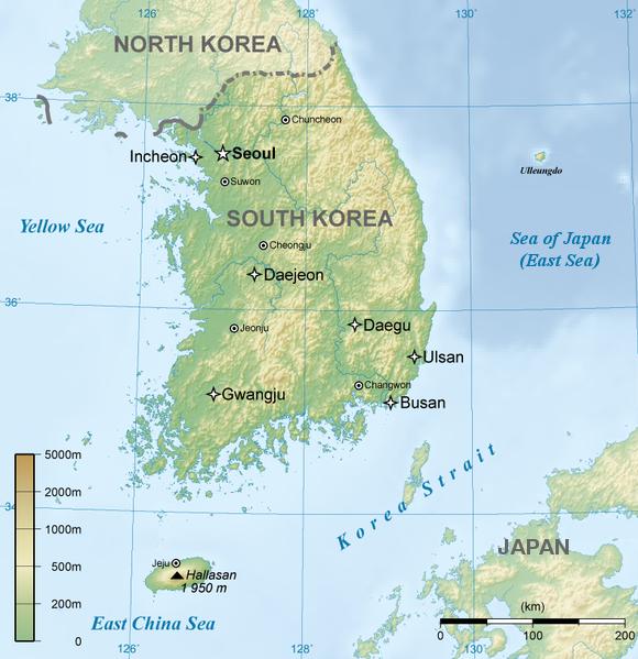 sør korea kart Jukdo (island)   Wikiwand sør korea kart