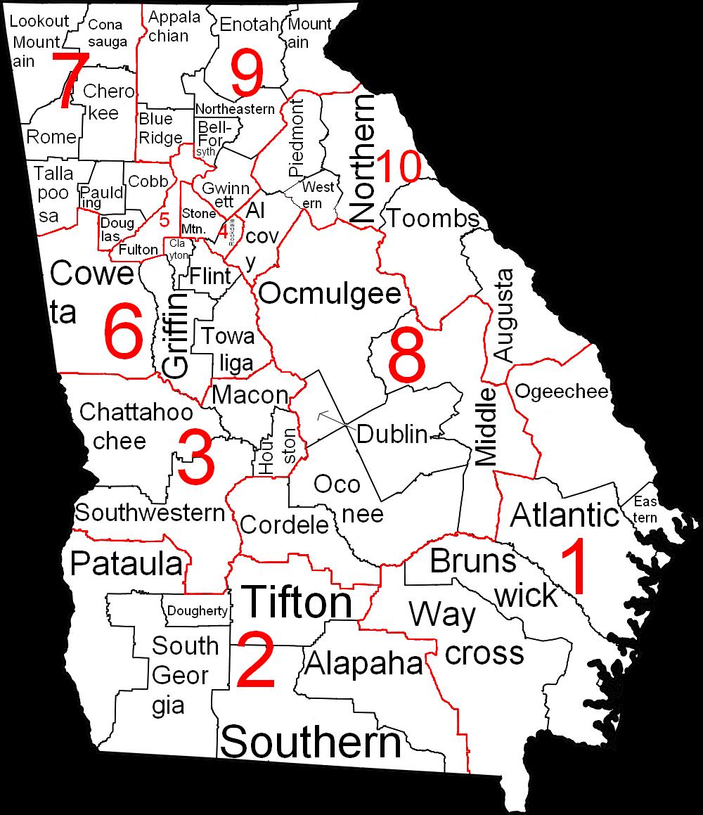 georgia judicial circuits map – bnhspine.com on