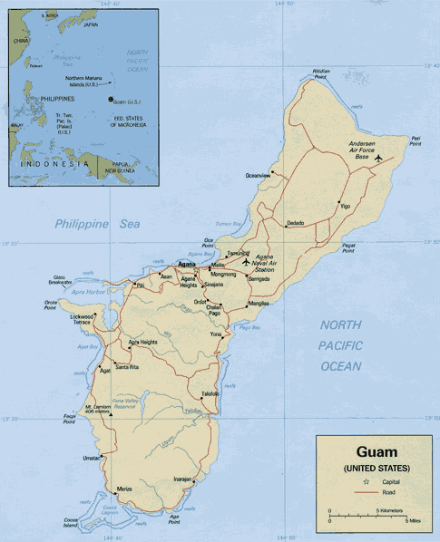 Guam - Simple English Wikipedia, the free encyclopedia