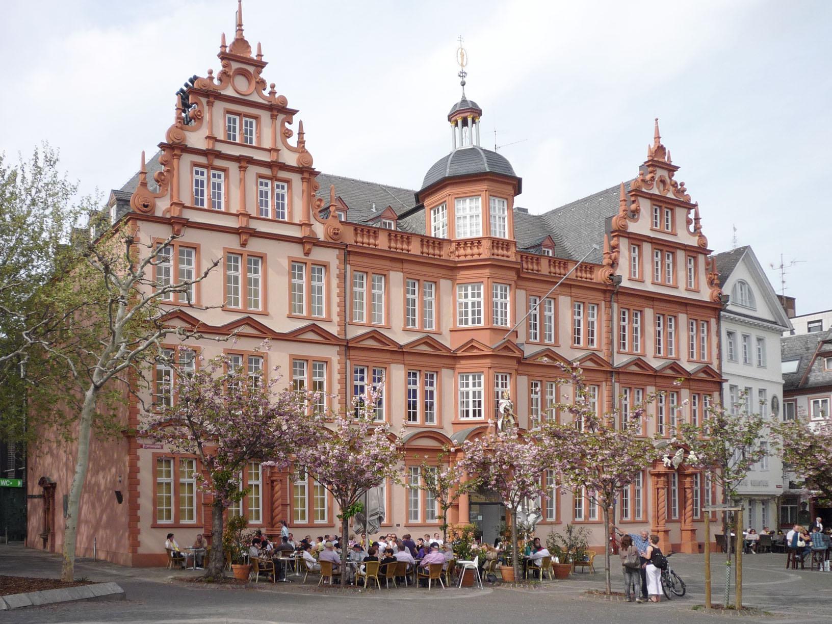 """House """"Zum Römischen Kaiser"""", today: Gutenberg Museum"""