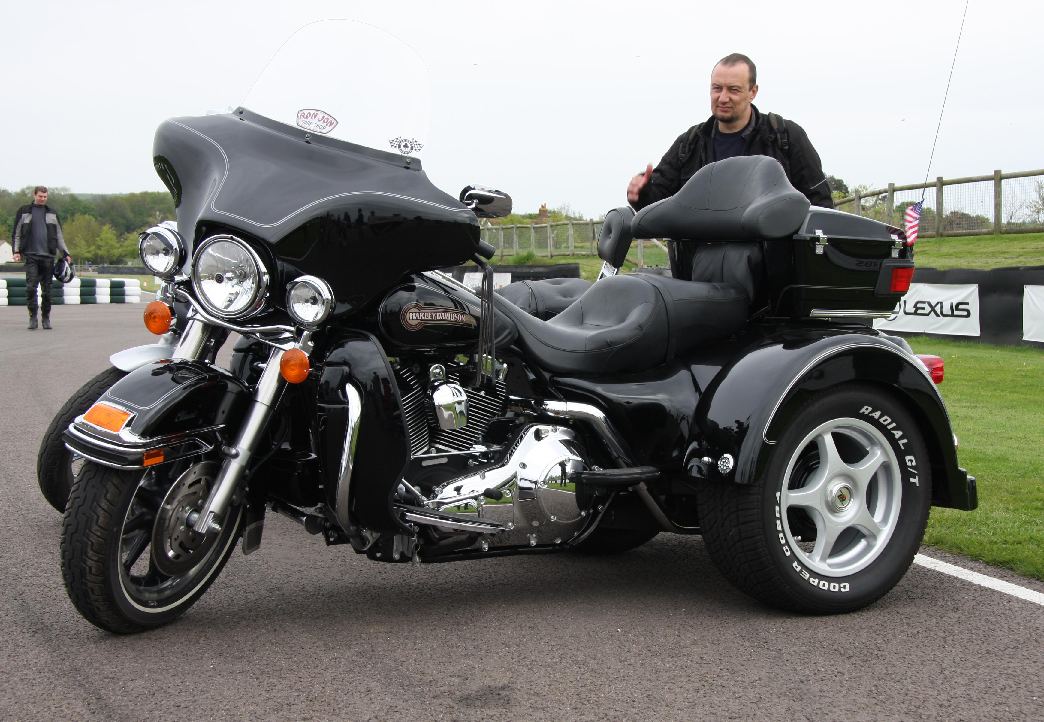 Harley Davidson Trike Rear Fendes